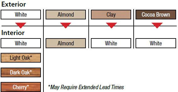windows Interior Color Options