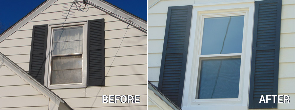 Replacement Window - Before & After
